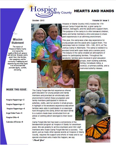 Newsletter October 2013 Capture
